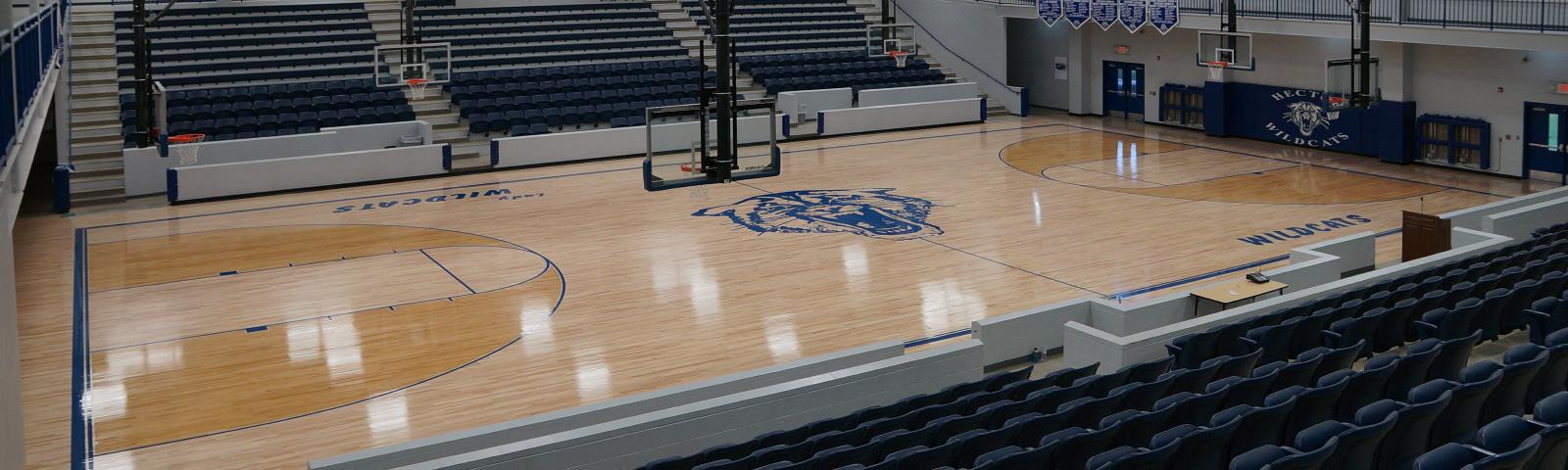 Richey Hardwood Floors - Gymnasium Floor Installation